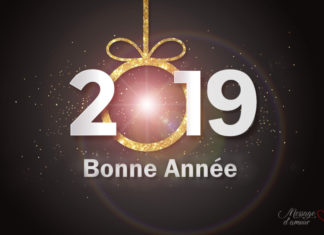 Carte de bonne année 2019