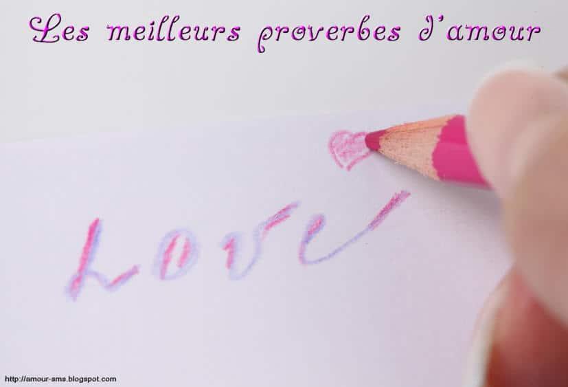 Les meilleurs proverbes d'amour