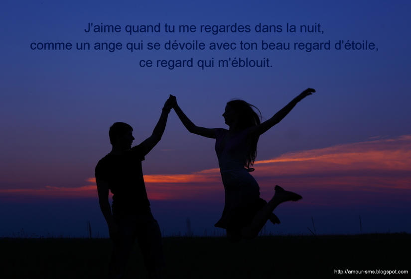 image amour nuit
