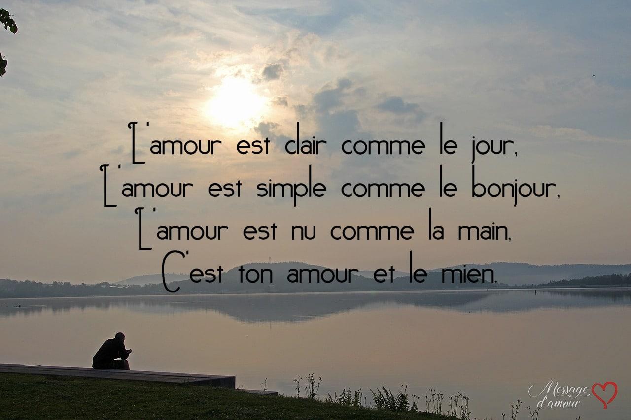 Sms Bonjour Mon Amour Message D Amour