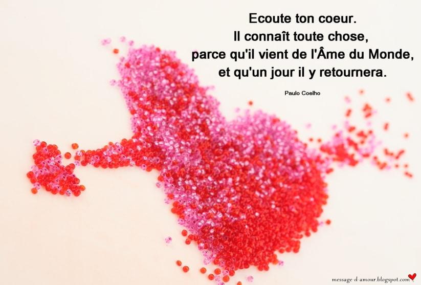 Citations Sur Le Coeur Et L Amour Message D Amour