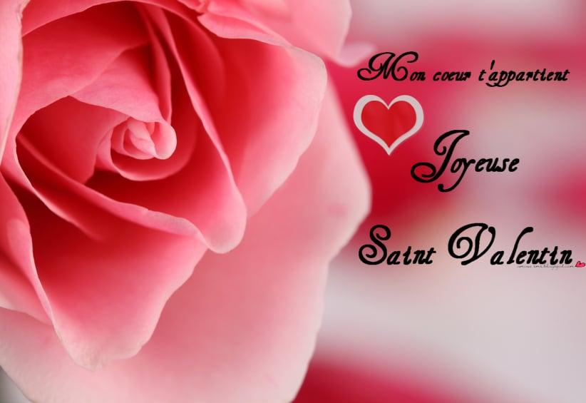 Joyeuse Saint Valentin mon amour