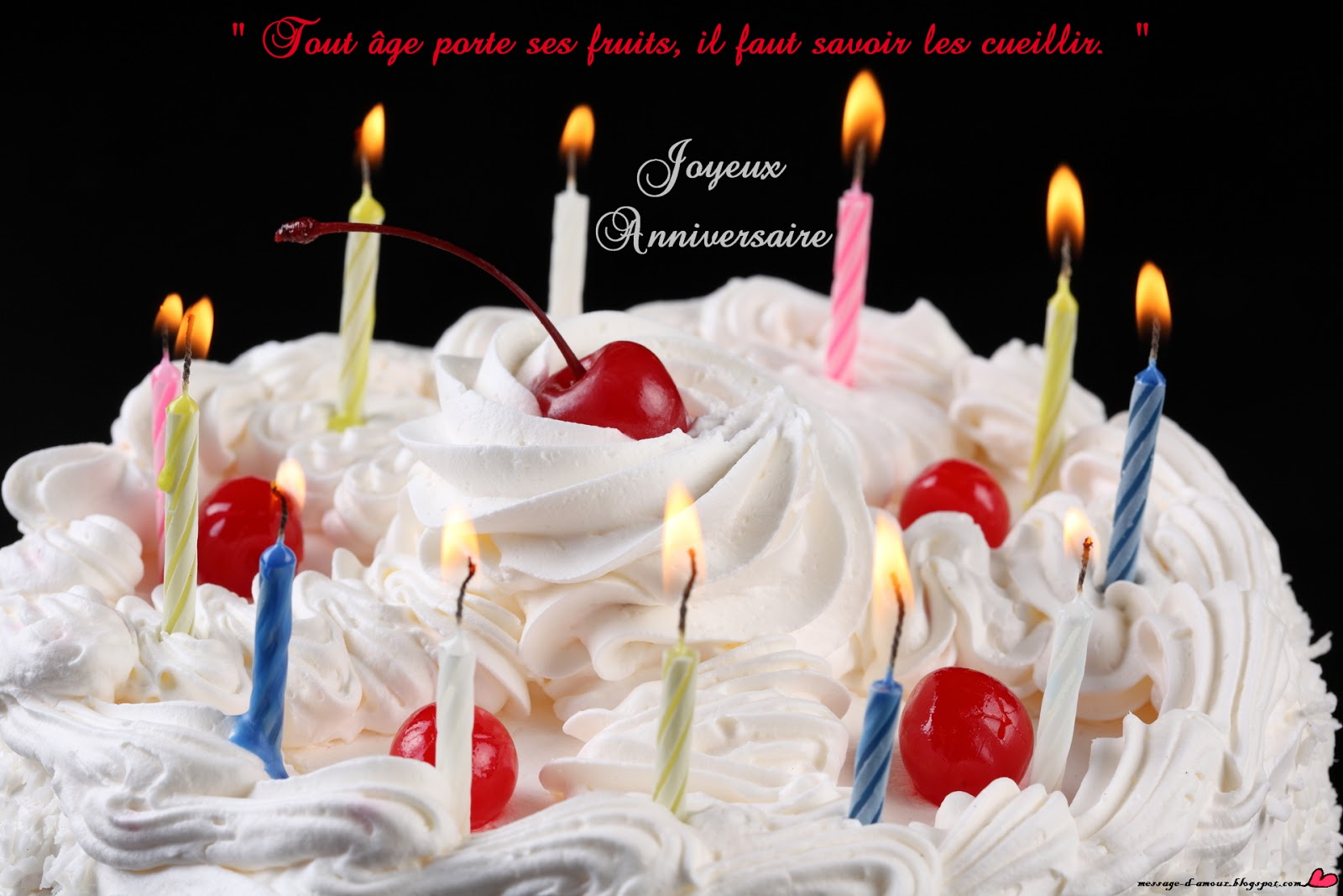 Citation d'anniversaire