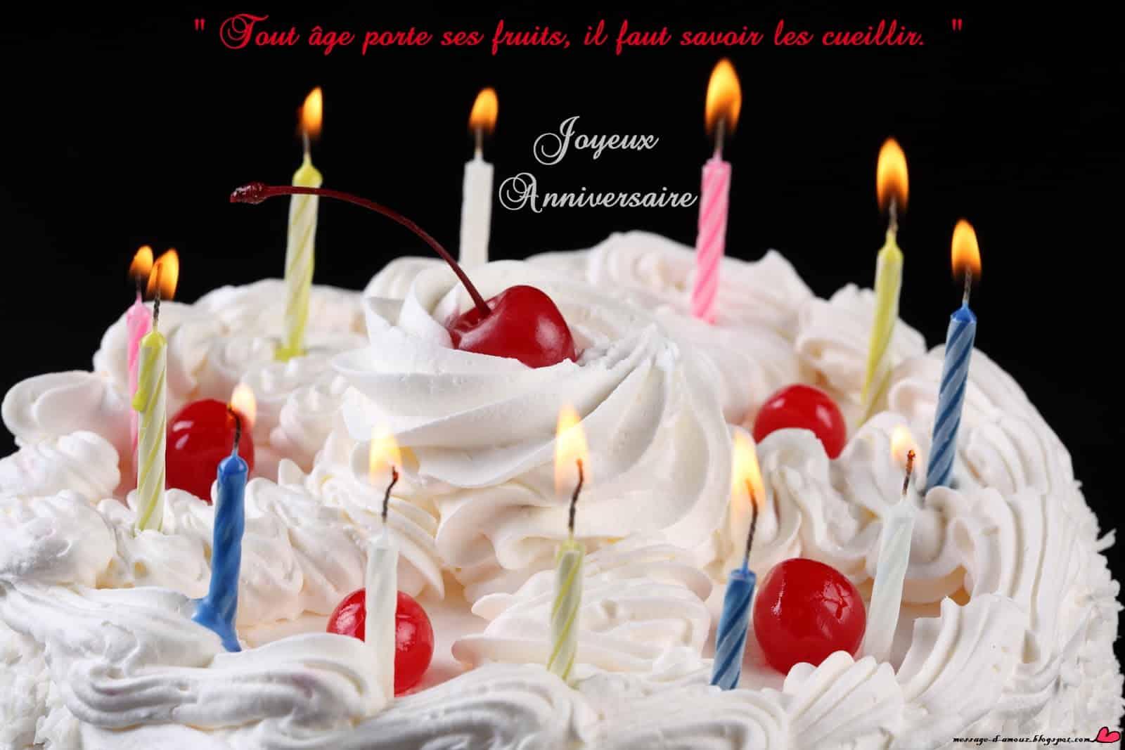 Joyeux Anniversaire Message Message D Amour