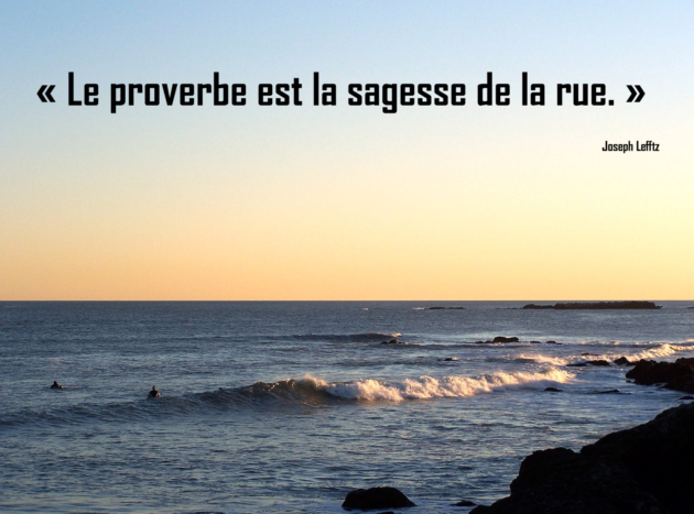 proverbe sur la vie