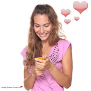 envoyer message amour
