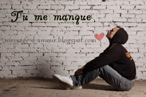 Sms Tu Me Manques Message Damour