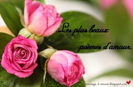 des poemes d'amour