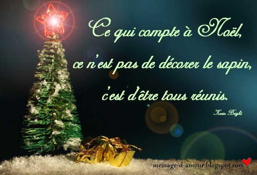 Texte Joyeux Noel Message Damour