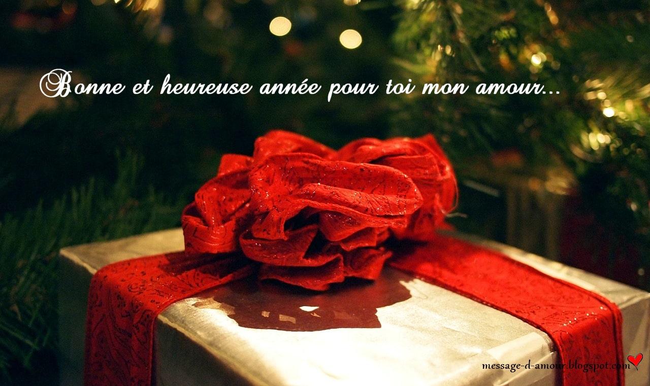 Bonne et heureuse année pour toi mon amour