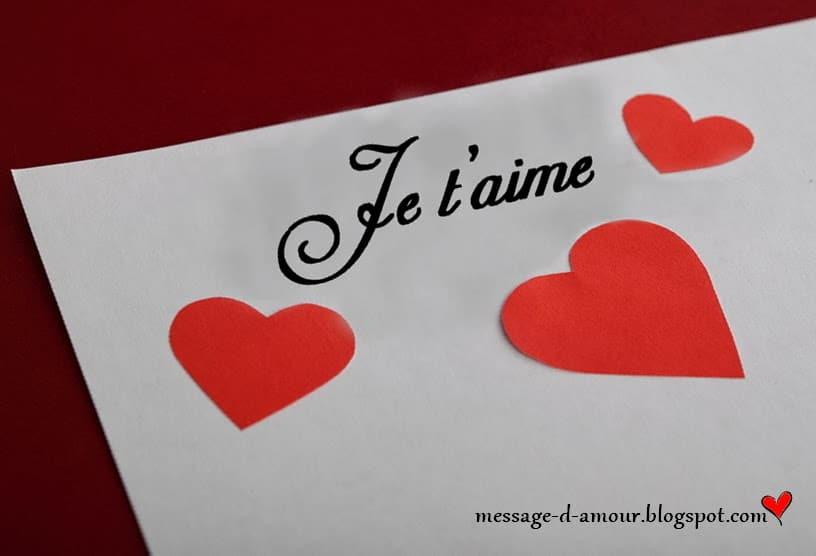 Sms Damour Pour Dire Je Taime Message Damour