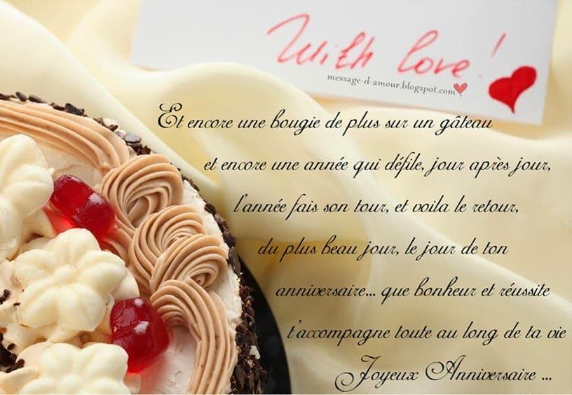 Message D Anniversaire Message D Amour