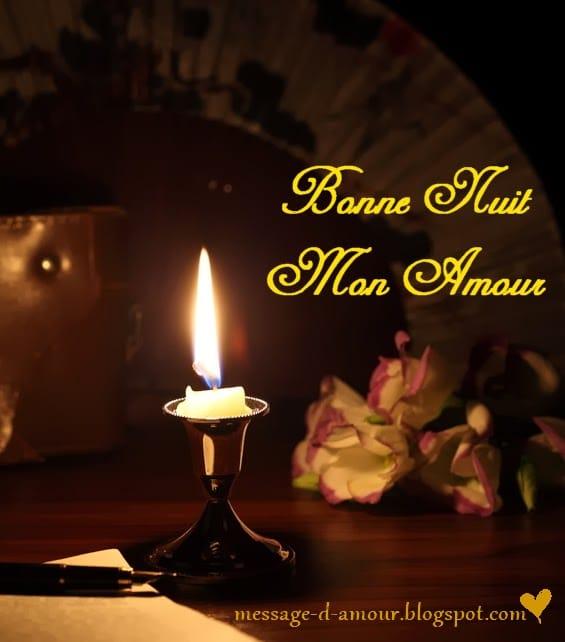 Bonne Nuit Mon Amour Message Damour