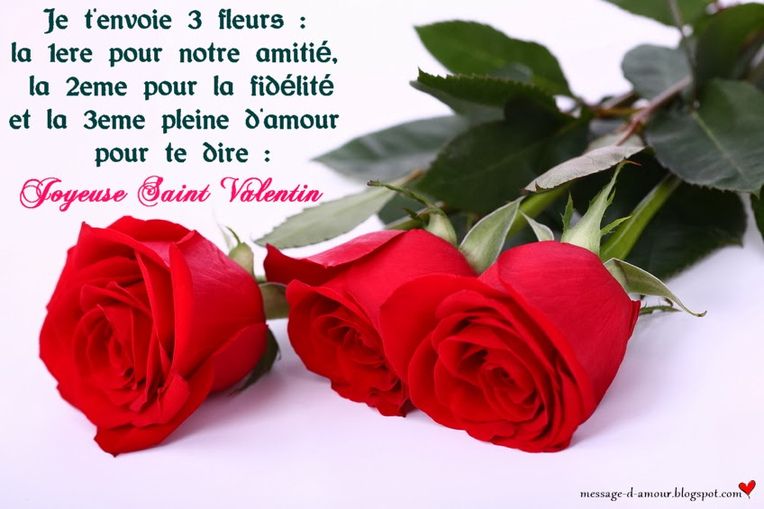 Sms Saint Valentin Message Damour