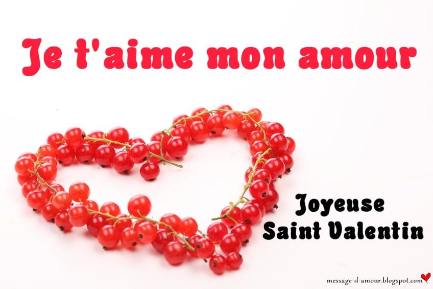 Cartes de saint valentin message d 39 amour - Carte st valentin gratuite a imprimer ...