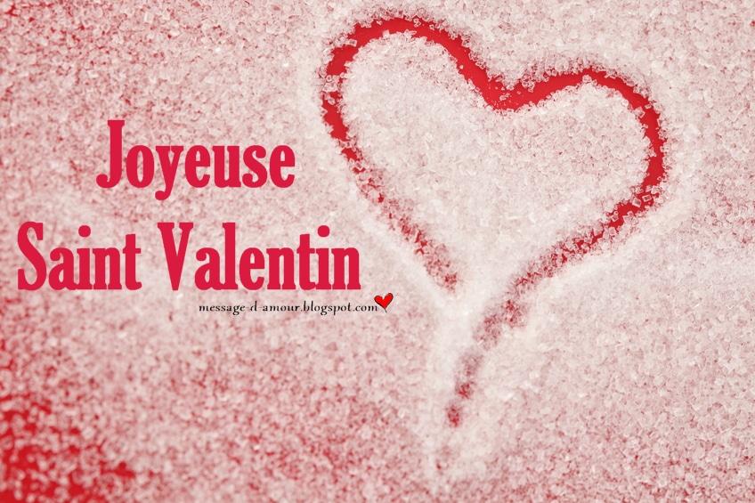 Jolie carte Saint Valentin