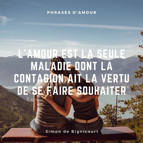 Phrase Amour Blanche Couple Plage