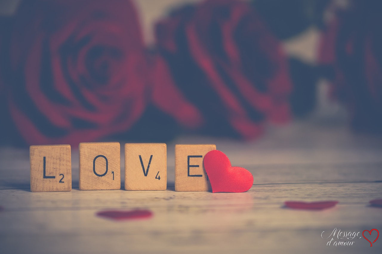 Small Love Words To Be Sent By Sms Message D Amour