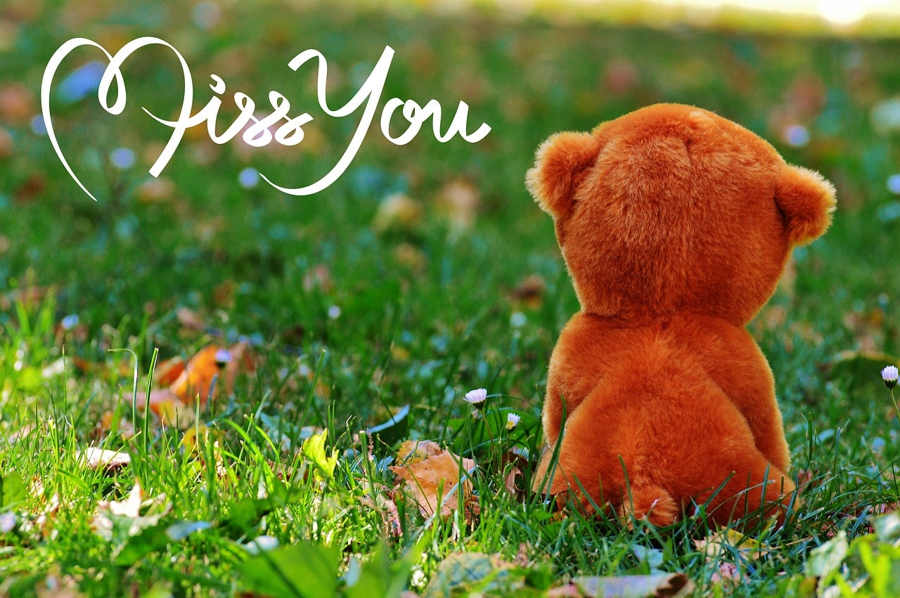 Tu me manques ma chérie