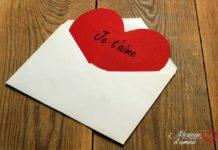 Lettre de déclaration d'amour pour elle