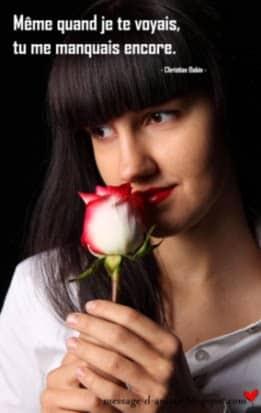 Tu Me Manques Tellement Mon Amour Message Damour