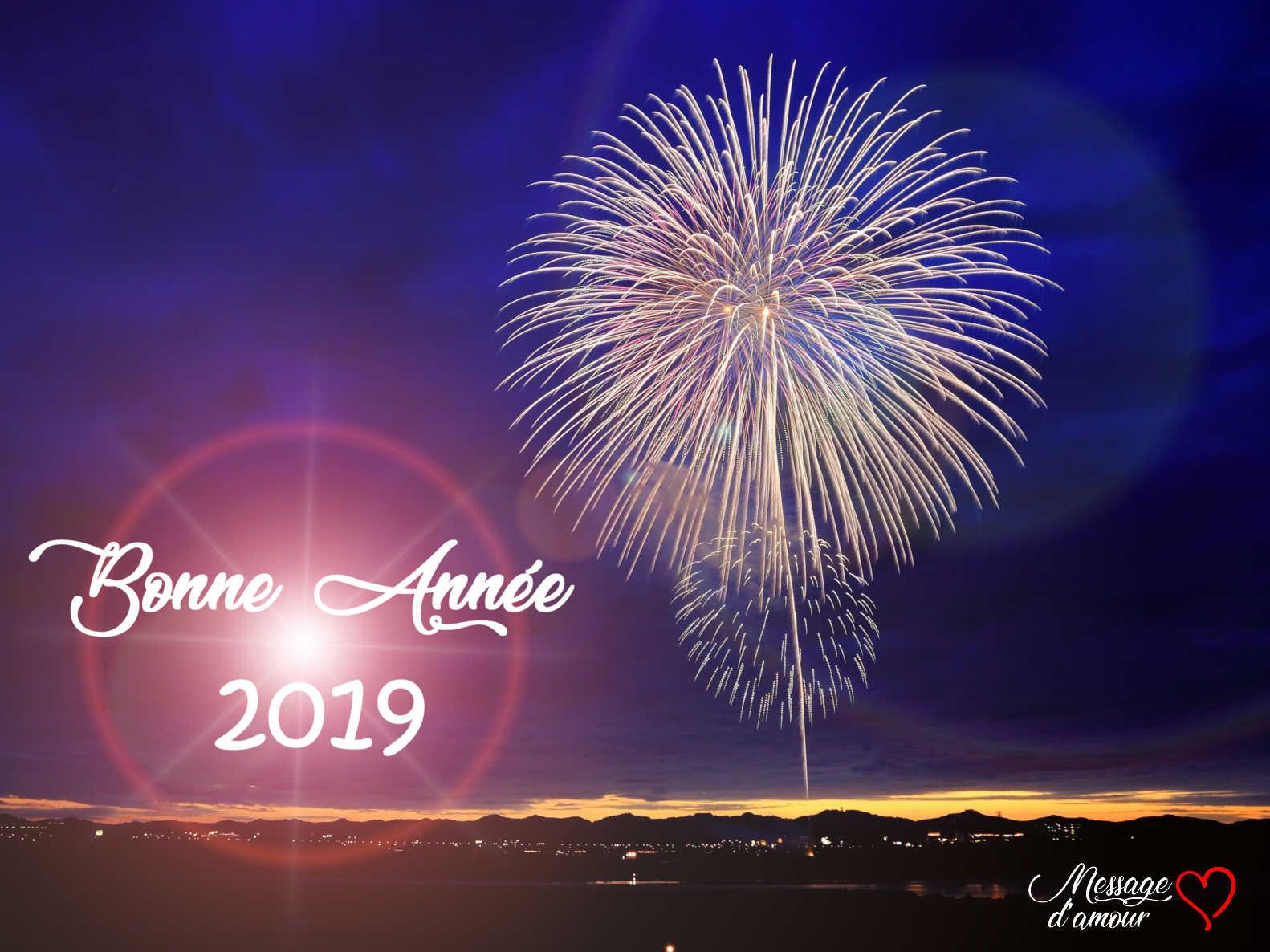 Sms Bonne Année 2019 Message Damour