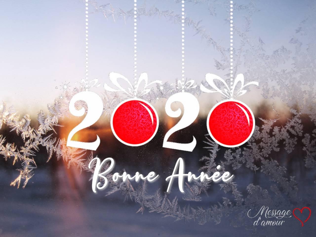 Sms Bonne Année 2020 Message Damour