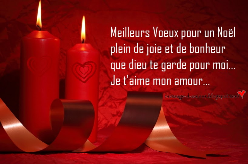 SMS d'amour joyeux Noël ~~ Joyeux Noël mon …