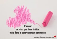 Petites Phrases Damour Message Damour