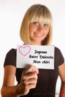 Joyeuse saint valentin mon chéri