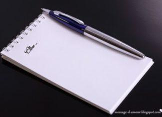 Lettres de déclaration d'amour
