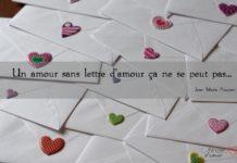 Lettre de déclaration d'amour