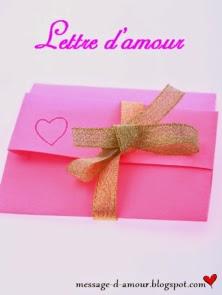 Lettre d'amour