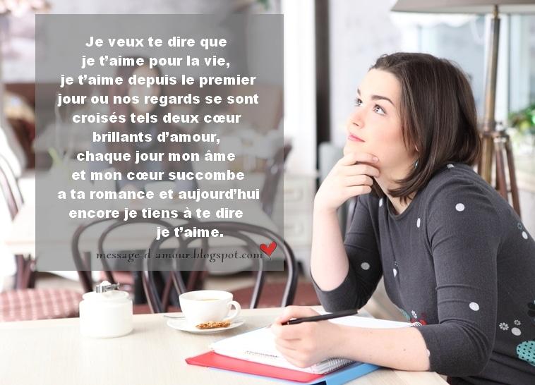 Texte Damour Pour Lui Message Damour