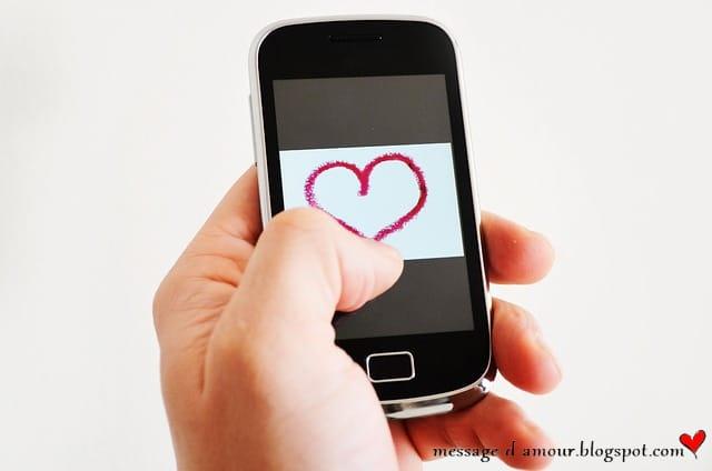 des idees sms d'amour