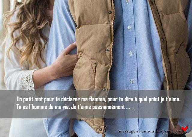 Beaux Textes Damour Pour Son Homme Message Damour