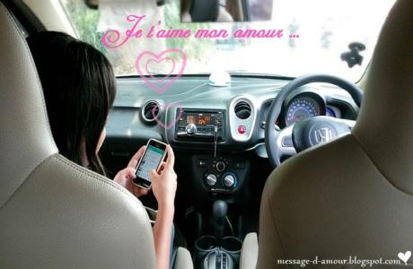 Message d'amour