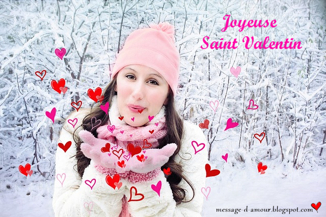 Joyeuse Saint valentin mon cheri