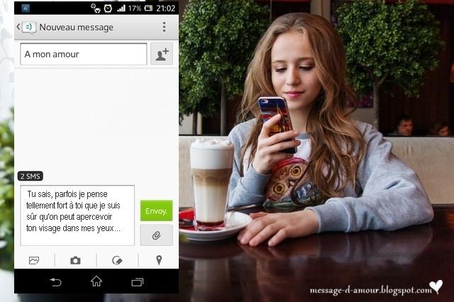 Message et SMS d'amour