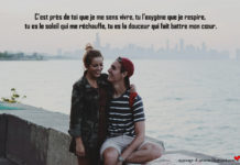 Message d'amour couple