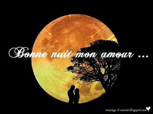 Message Damour Bonne Nuit Message Damour
