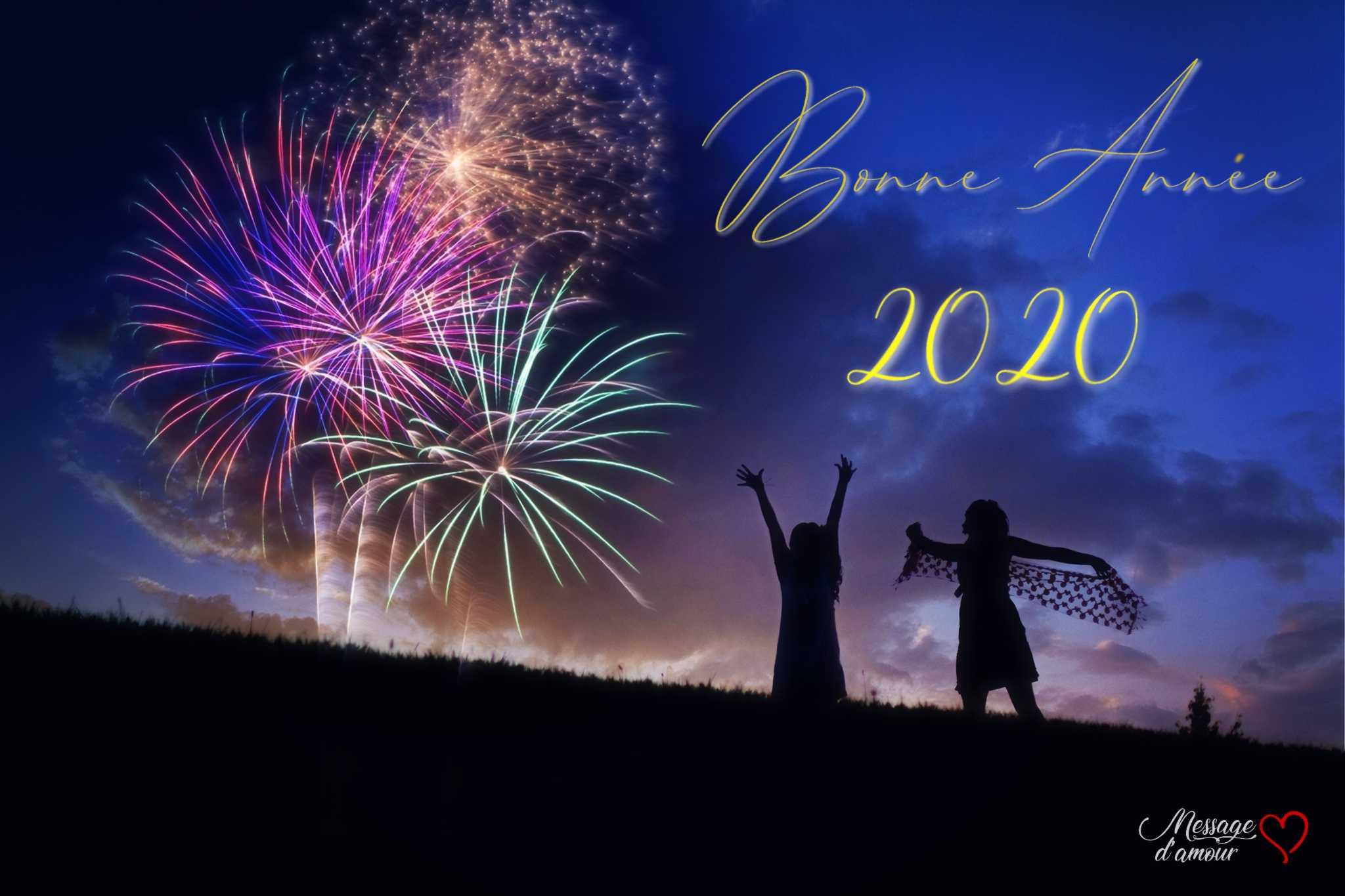 Bonne Année 2020 Idées Textes De Voeux Message Damour