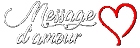 Message d\'amour