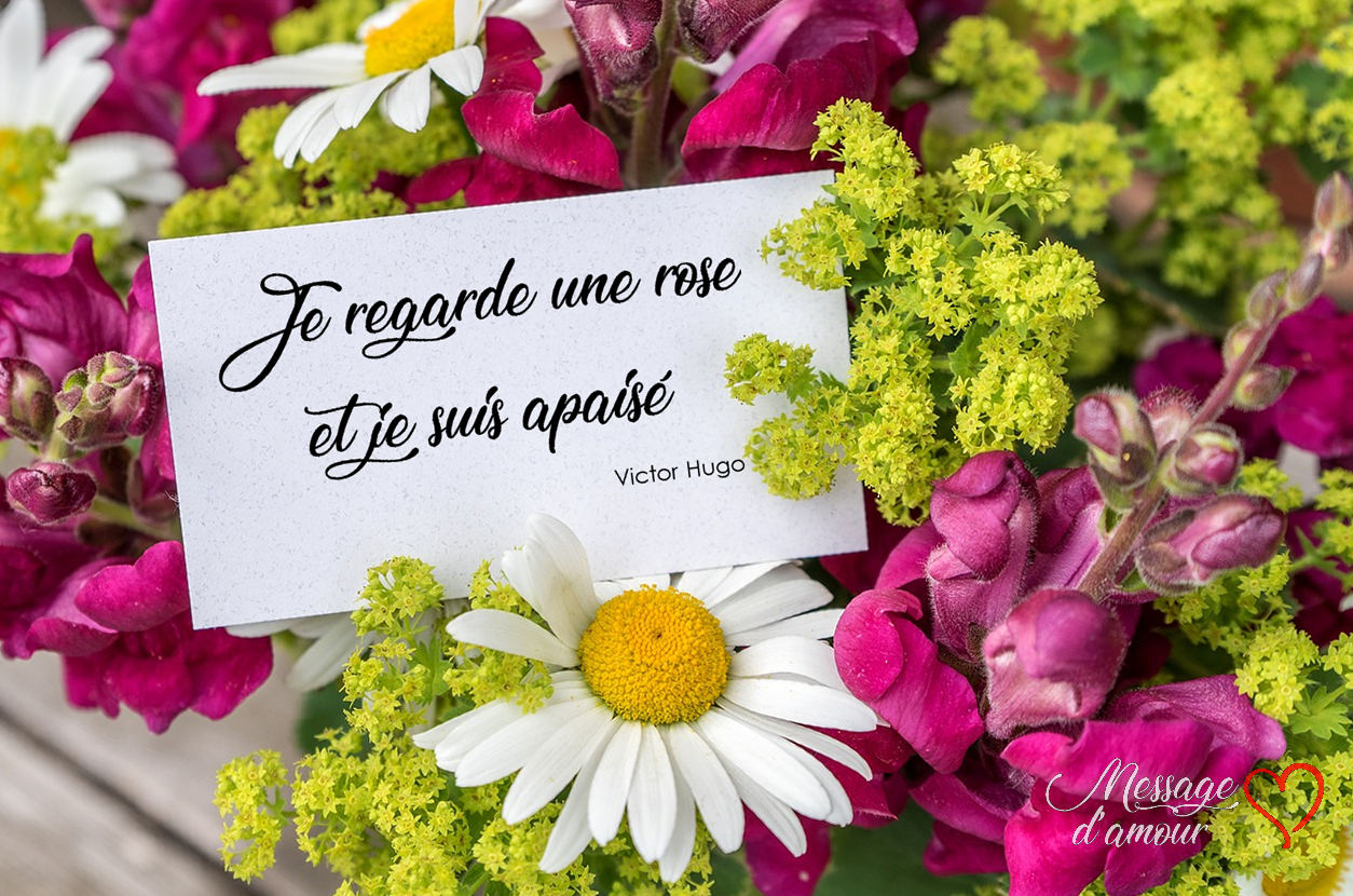 mot d amour pour carte de bouquet de fleurs message d 39 amour. Black Bedroom Furniture Sets. Home Design Ideas