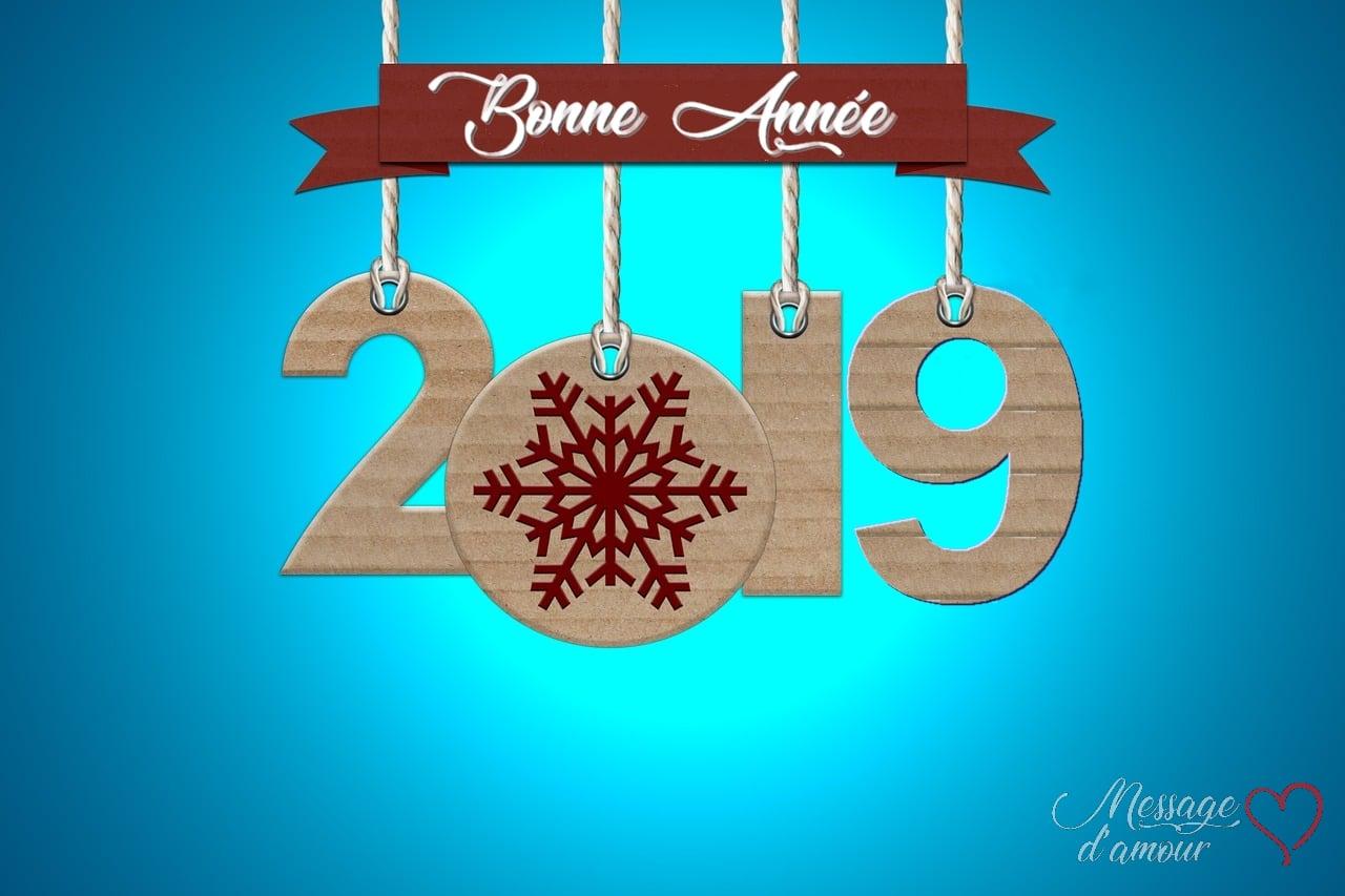 Cartes Bonne Année 2019 Gratuites Message Damour