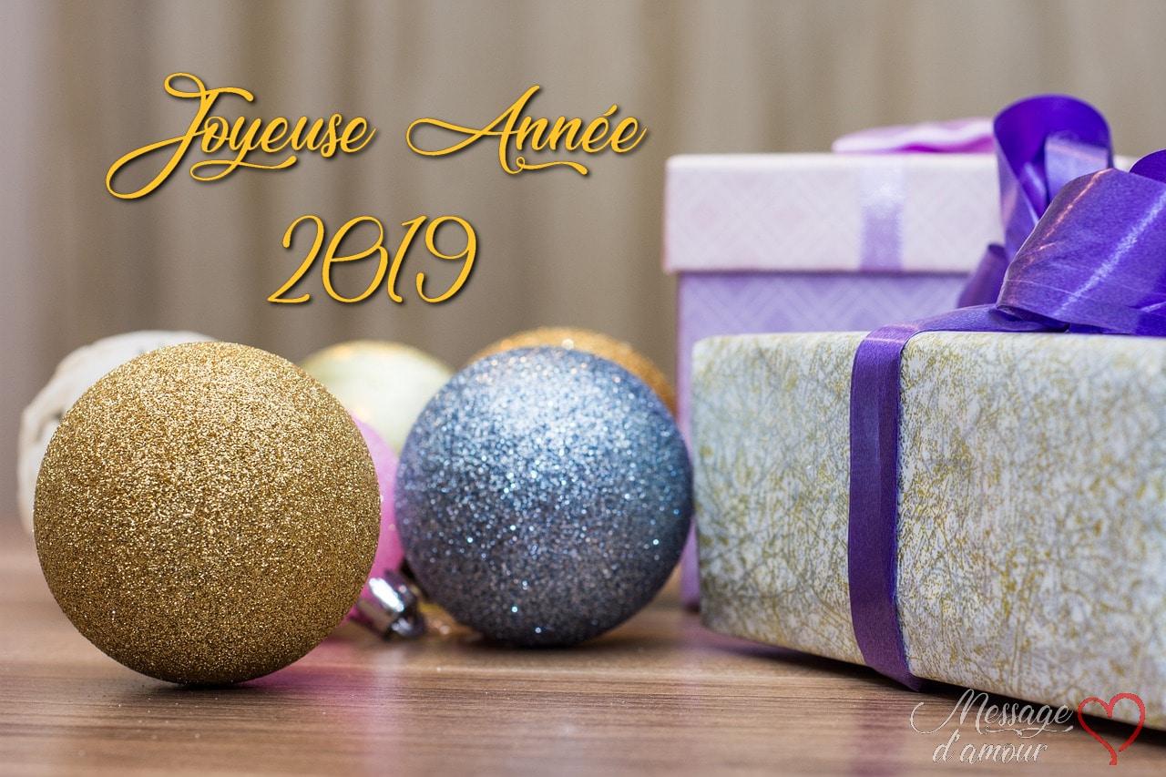 Joyeuse année 2019