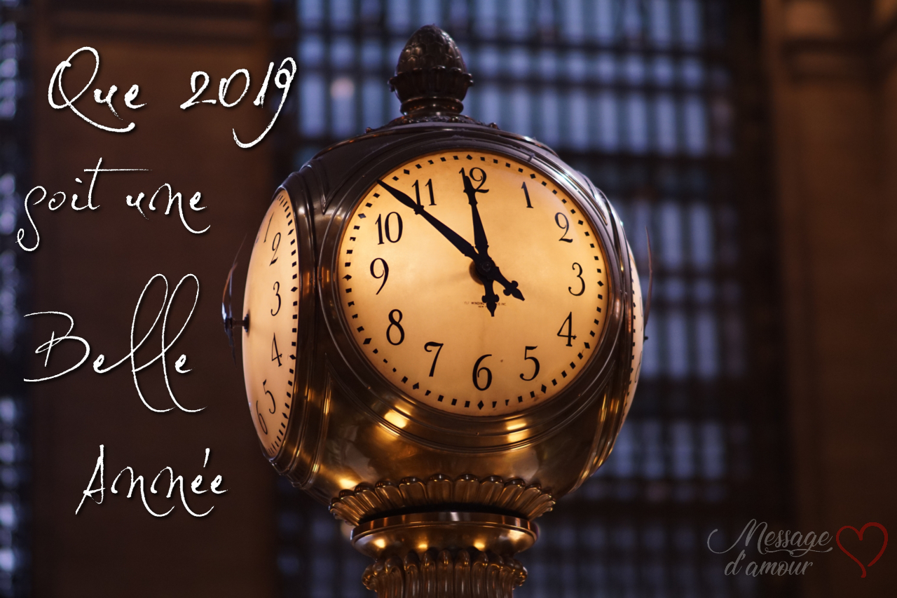 Que 2019 soit une belle année