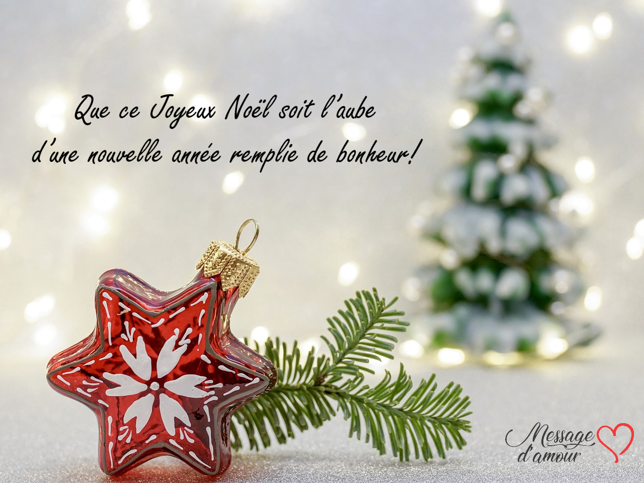 10 Sms Pour Souhaiter Un Joyeux Noël Message Damour