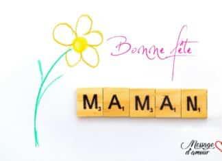 Carte bonne fête maman