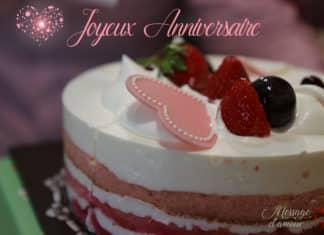 Carte joyeux anniversaire amour